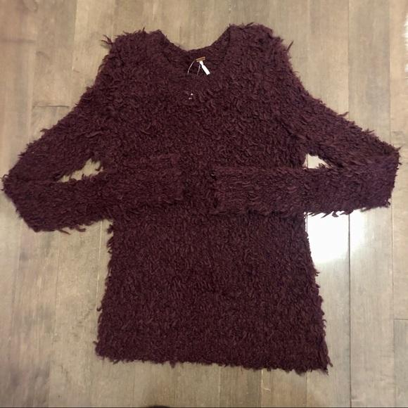 Free People Fuzzy Sweater